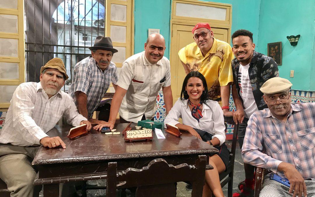 La actriz cubana Camila Arteche se une a la comunidad de vecinos de Vivir del cuento