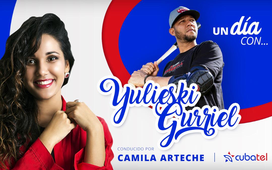 Camila Arteche entrevista a Yulieski Gurriel