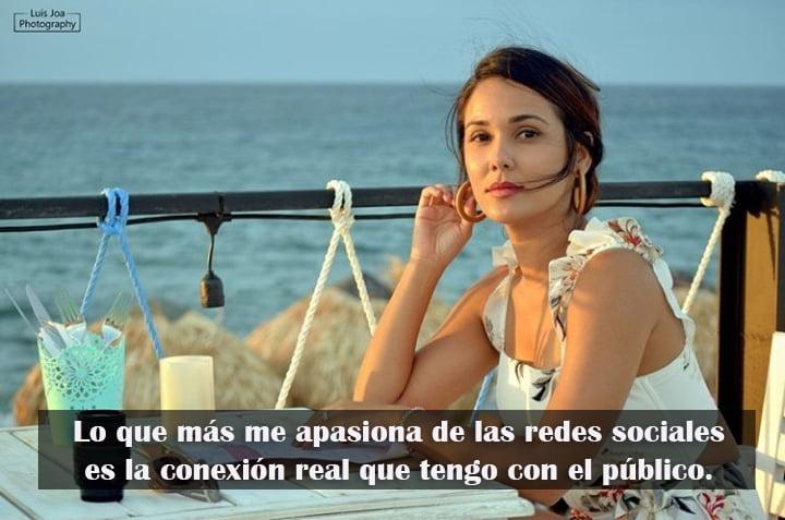Camila Arteche: Lo que más me apasiona de las redes sociales es la conexión real que tengo con el público