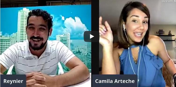 Las confesiones de Camila Arteche al lanzar los dados en la I Serie de Béisbol Virtual